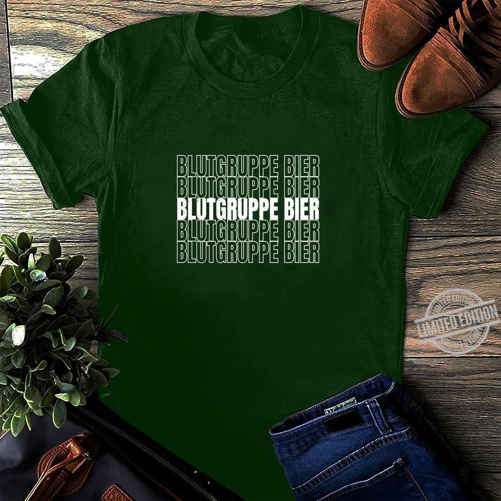 Blutgruppe Bier Geschenk für Mallorca Urlauber Langarmshirt Shirt long sleeved